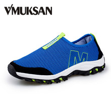 Big Size 39-45 New Mens Shoes Summer Breathable Trainers For MEN MESH Spring Light Zapatos Summer Slip On Loafers Men's Flats(China (Mainland))