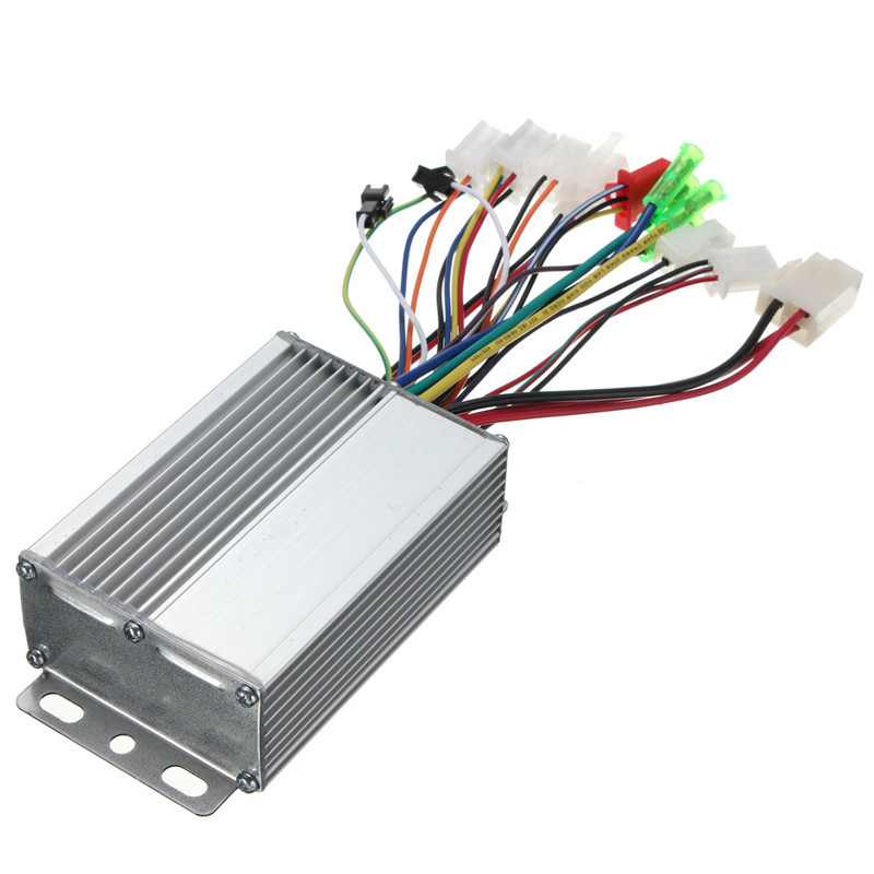 Best Price Top Selling Brushless Motor Controller For Electric Vehicle Scooter with/without Hall Sensor 36V/48V 350W(China (Mainland))