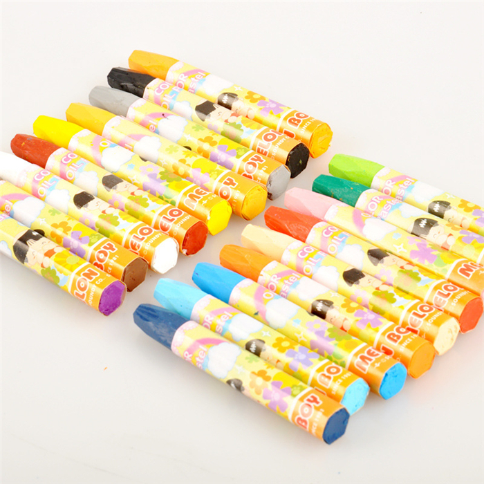 1 Set Colorful 18 Colors Oil Pastel Non-toxic Crayon Drawing Superior Products  for Art School Supplies Stationery