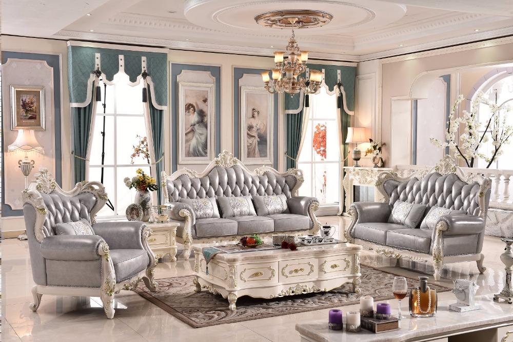 bom preo de venda quente de luxo sof de couro francschina mainland