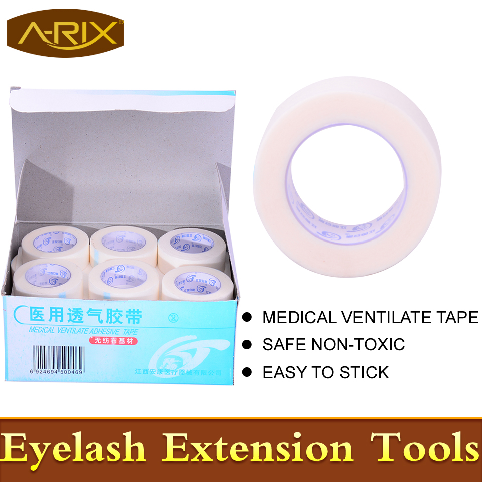 Medical Ventilate Adhesive Tape eyelash extension non-woven tape professional makeup tools A-RIX Brand - Qingdao A-Rix Import And Export Co., Ltd. store