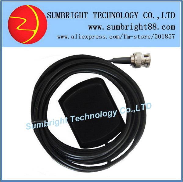 SB-CA119-BNC-3M 50pcs*Outdoor Car China 3M Waterproof Magnetic Patch Custom External GPS Gain 1575.42MHz Active Antenna(Hong Kong)