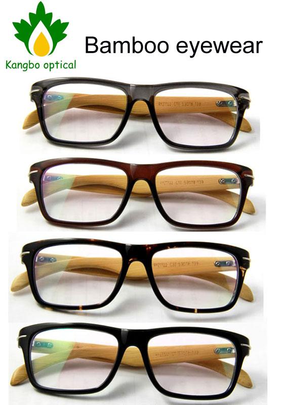 RYZ1122 free shipping fashion wayfarers eyewear&optical frames designer vintage spectacles Bamboo wooden glasses