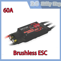 Mystery Fire Dragon 60A Brushless ESC RC Speed Controller for car boat helicopter airplane wholesale Free shipping