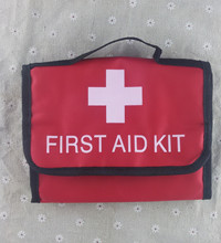 empty first aid package emergency kit for family camping outdoor adventure 21.5cm*17cm*5cm(China (Mainland))