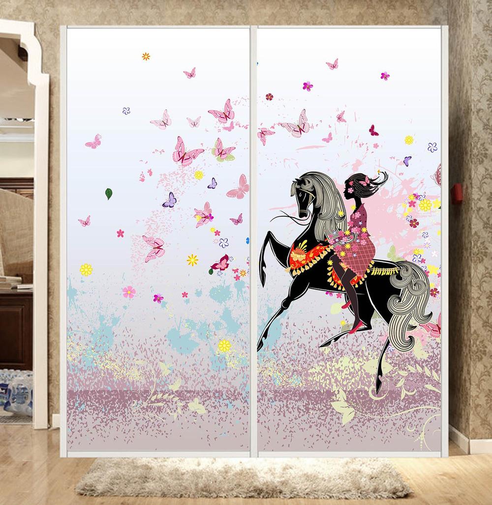 Achetez en gros verre portes coulissantes armoire en ligne for Adhesif translucide fenetre
