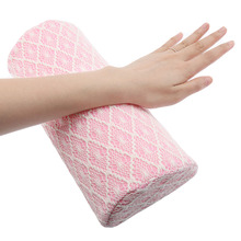 Soft Sponge&Textile&Lace Nail Art Cushion Hand Holder Professional Washable Nail Pillow Arm Rest for Manicure Nail Accessories(China (Mainland))