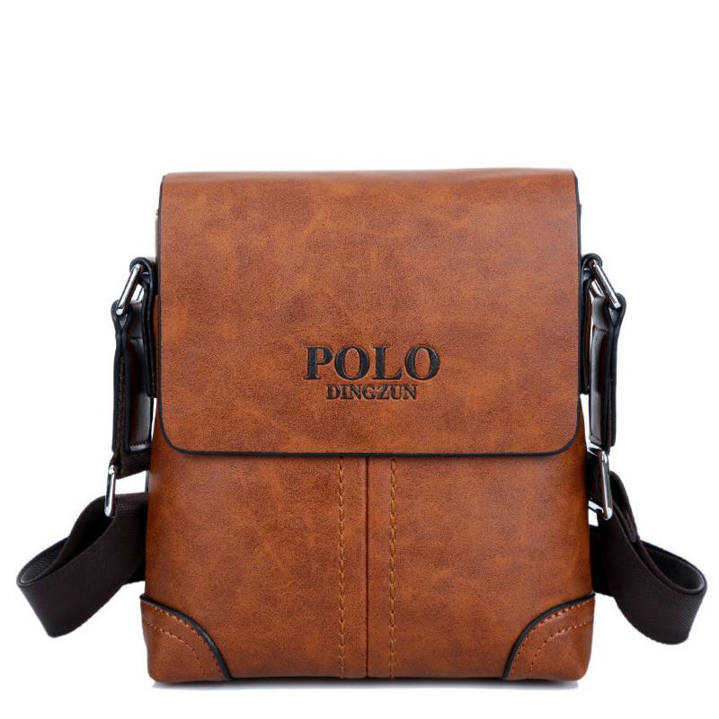 Shoulder bag crossbody handbag men messenger bags genuine leather handbag Leather Shoulder Bags For Men Business free shipping(China (Mainland))