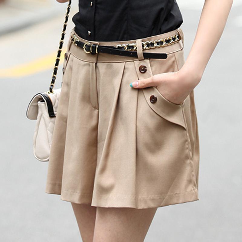 2014 new korea style summer women skirts shorts plus size