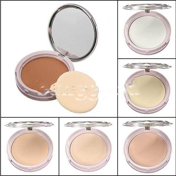 ChinaStock Makeup Smooth Moisturizing Pressed Powder Facial Compact Foundation(China (Mainland))