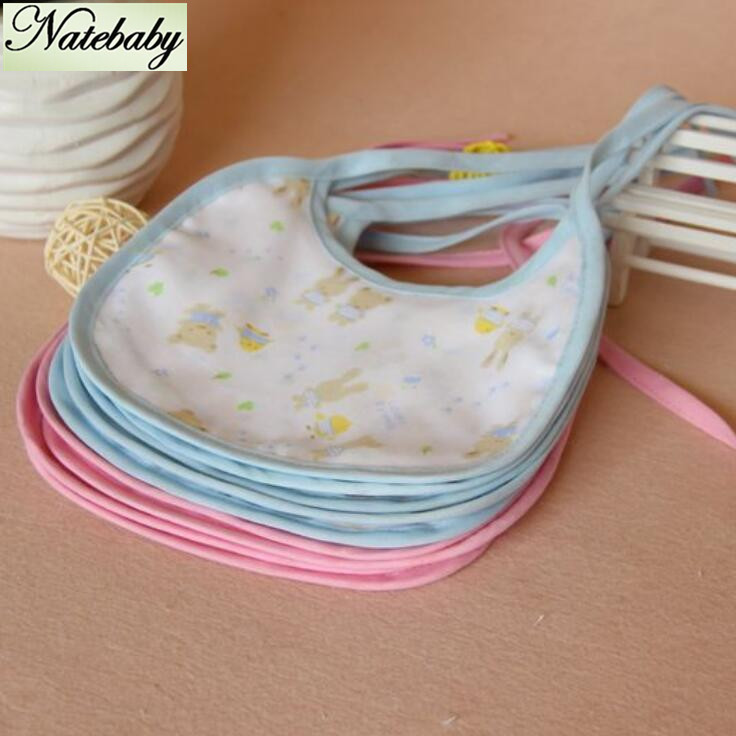Special offer 6 layers of gauze cotton baby bibs gauze bibs factory outlets NB0240(China (Mainland))