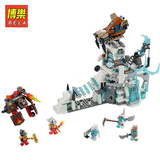 Bela Chimaed Sir Fangars Ice Fortress 668pcs Minifigures toys building blocks Kids Brick Toys Legoelieds<br><br>Aliexpress