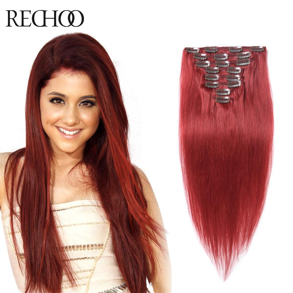 Remy Human Hair Clip Ins 62