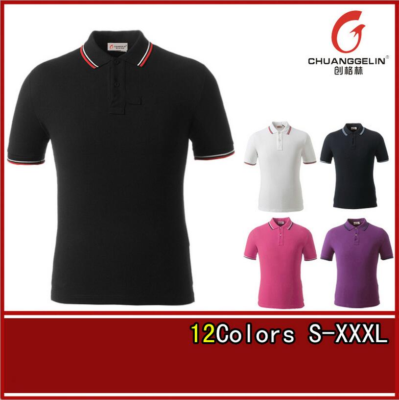 2016 Mens Summer Polo Shirt Brand Cotton Short Sleeve Polo Shirt Homme Casual Breathable Fitness Outdoor Sports Polo Shirt S-3XL(China (Mainland))