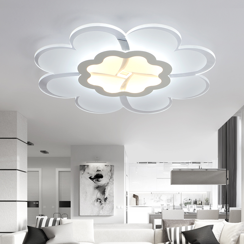 dimmable led ultra-thin lumini plafon for living room bedroom dining room light home lighting deckenleuchten kids ceiling lights(China (Mainland))