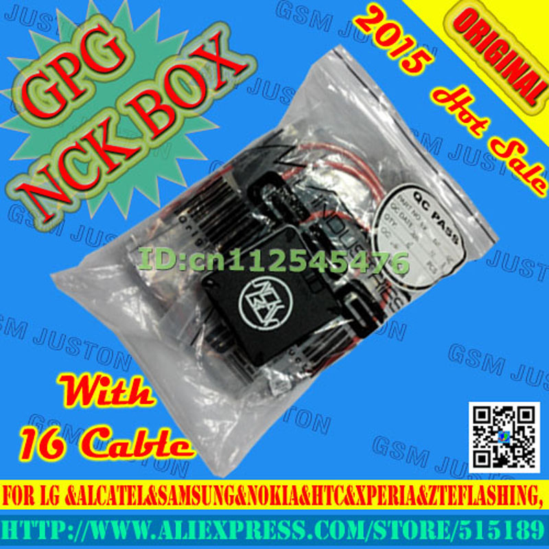 The newest vesion NCK Box For LG &Alcatel&samsung&Nokia&HTC&XPERIA&ZTEflashing, software repair and unlocking pack with16cables(China (Mainland))