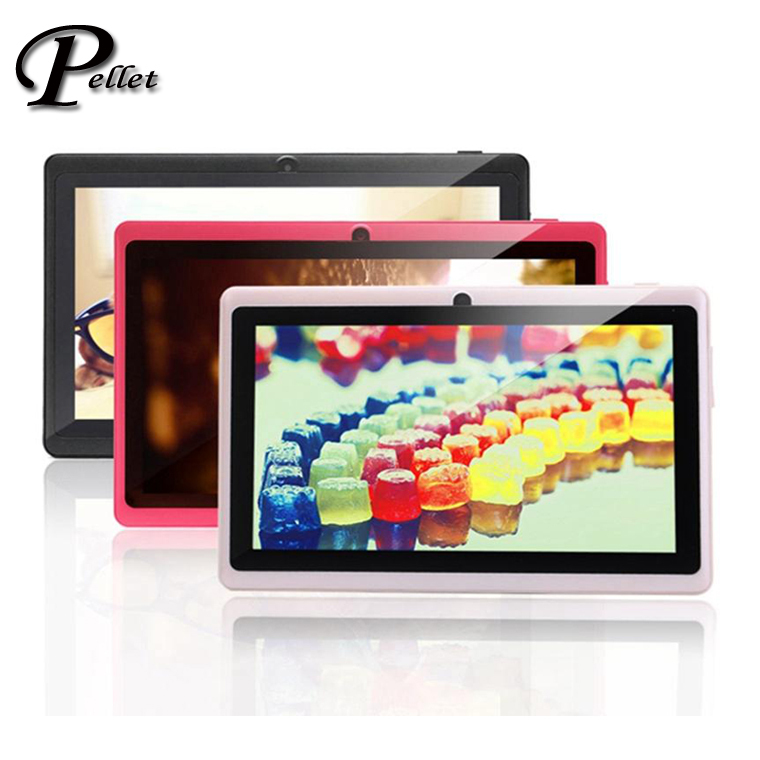 """Hot sale,7"""" Tablet PC Q88 Allwinner A23 Dual Core Android 4.2 1.5GHz Dual Camera Tablet WIFI With Multi Color free shipping(China (Mainland))"""