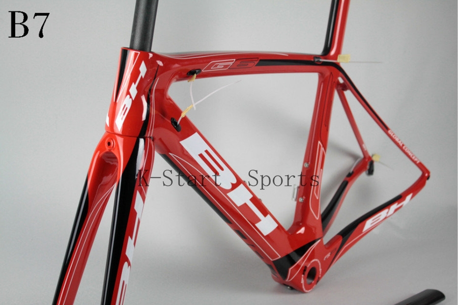 Factory price,T800 carbon UD weave triathlon carbon road bike frame BH G6 B6 B7 BSA bike frame(China (Mainland))