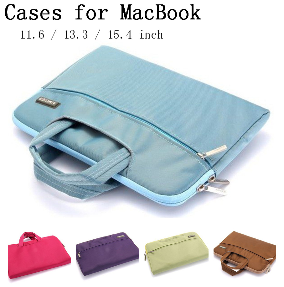 New laptop Sleeve bags for Apple Macbook Air Pro Retina 11.6 13.3 15.4 inch laptop Sleeve For Mac book bag,SKU 0132S(China (Mainland))