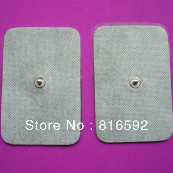 3.5mm snap connector New Stud TENS EMS Massager Machine Electrode Pads, TENS Machine Pads(China (Mainland))
