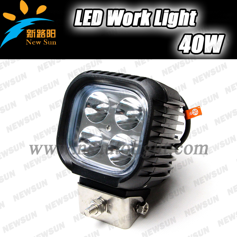 Hotsale 9-32v 40W flood &amp; spot beam off road lamp auto led work light, cree led work light 40w led tractor working lights<br><br>Aliexpress