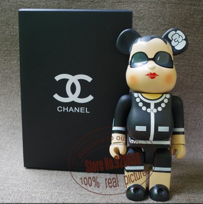 New arrival ! 11inch 400% bearbrick luxury Lady be@rbrick medicom toy with retail box(China (Mainland))