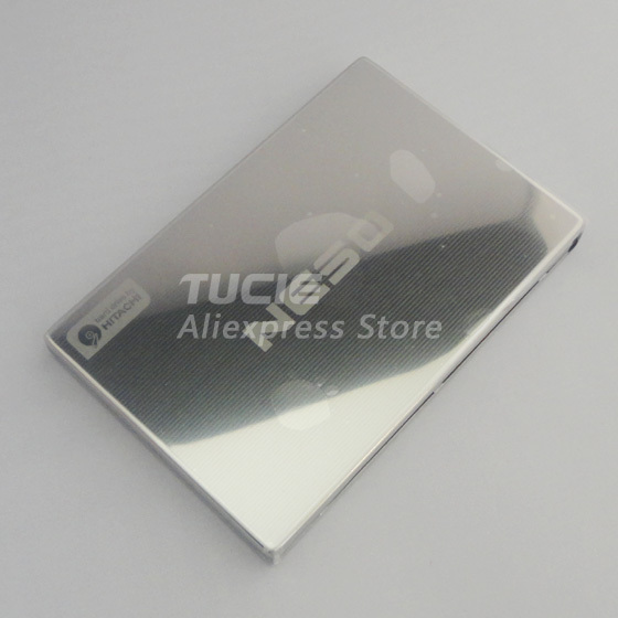 External Hard Drive 1TB USB2.0 HDD Portable Disk 1000G 2.5 inch Slim Stainless Steel Design Free Shipping(China (Mainland))