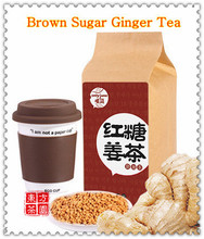 New Arrival Chinese Style Green Tea Instant Brown Sugar Ginger Tea Weight Loss Coffee Slimming Women's Health Tea Free Shipping