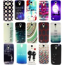 Gel TPU Slim Soft Case Back Cover For Samsung Galaxy S4 Mini i9190 i9192 i9195 Phone silicone Protective Bags Cases