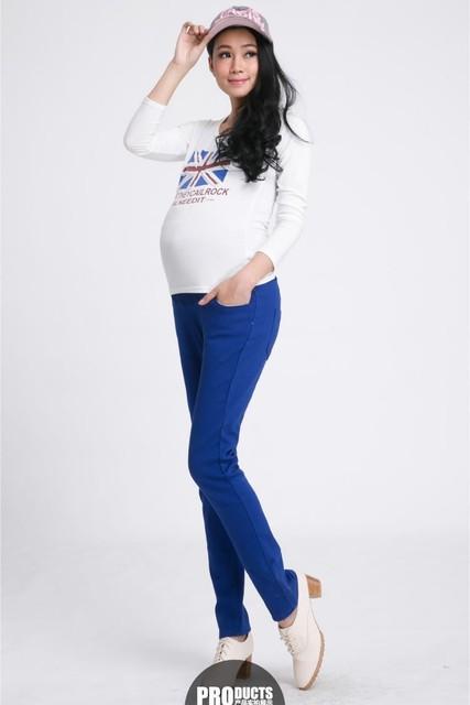 Эластичные высокая талия штаны для беременных 2016 весна лето одежды беременности ...