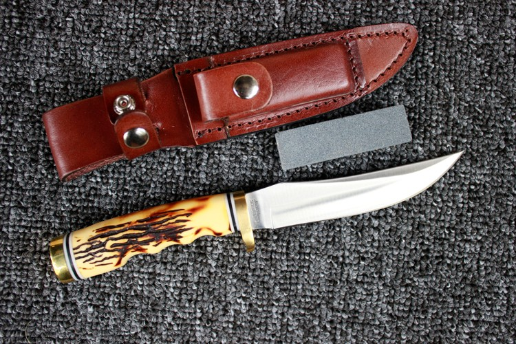 Buy Survival Knife SCHRADE Fixed 7CR17MOV Blade Knife 59HRC Pocket Tactical Knifes Hunting Camping Knives Outdoor Tools KN328 cheap