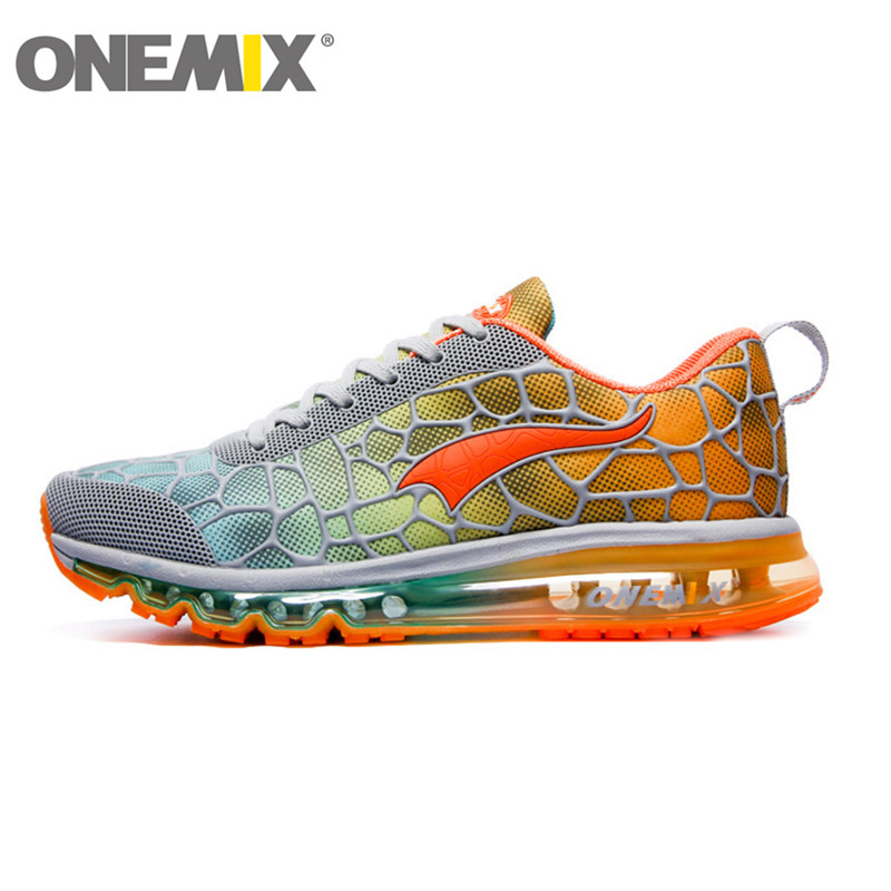 Hotsale onemix 2016 air cushion original zapatos de hombre mens athletic Outdoor sport shoes women running shoes size 36-45(China (Mainland))
