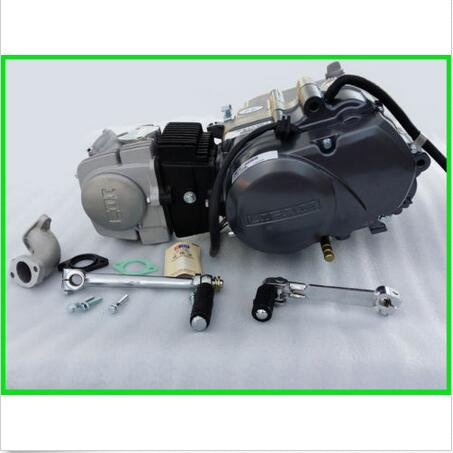 125cc Geniune LIFAN Engine Motor 4 Stroke Kick Start Manual Clutch 1 Down 3 up(China (Mainland))