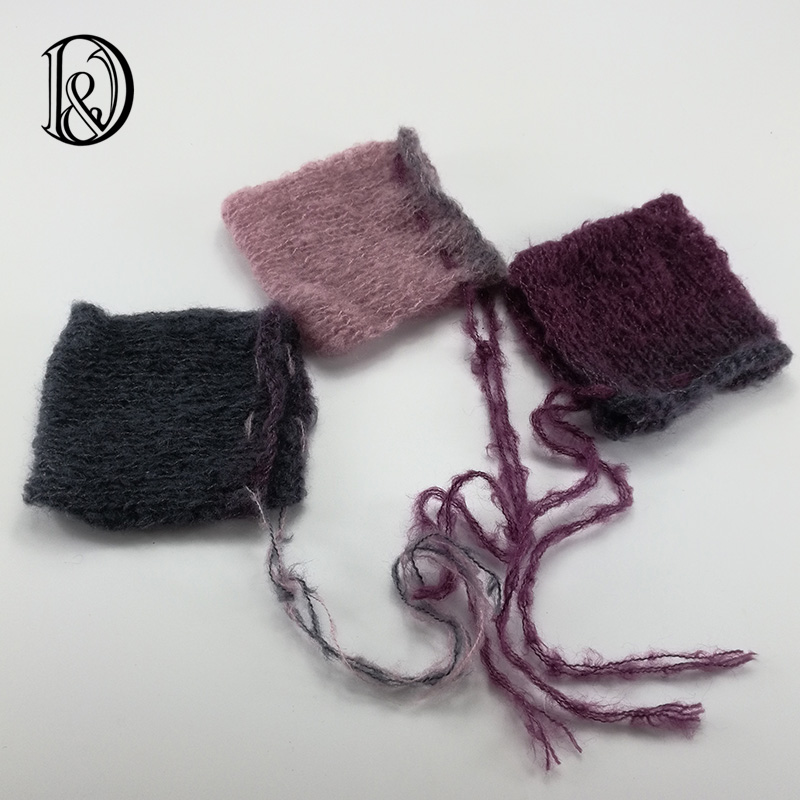 wholesale,free shipping,handcraft baby hand knit mohair bonnet,baby shower,baby photography props<br><br>Aliexpress