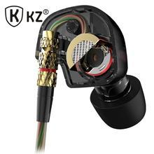 KZ ATE Latest Original Brand Super Bass In-Ear Earphone/Earbuds with Mic 3.5mm Hifi Gold Plated Go Pro Music Headphone/Eearphone