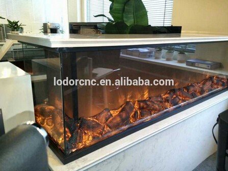 Double sided electric for Double sided fireplace price