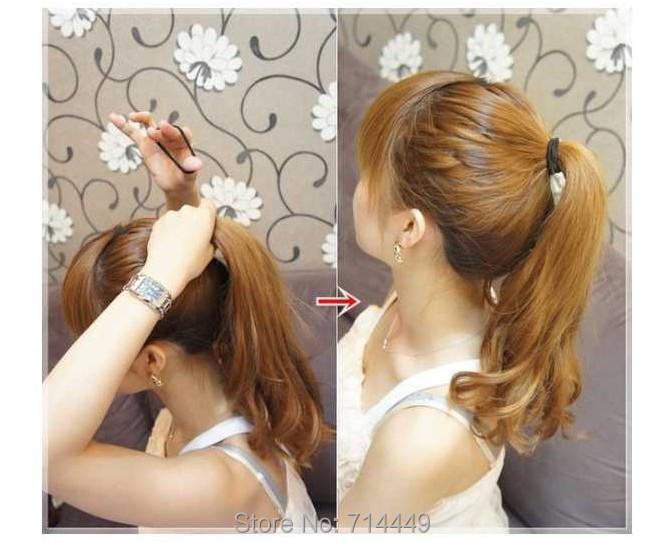 Купить Wholesale Sweety Princess Hair Styling Donut Magic Sponge 100pc Ring Ball&Cycle Hair Seting