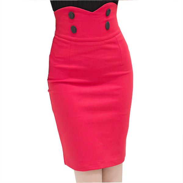 Мода офис женские высокая талия юбки женская сексуальность карандаш бинты Bodycon ...