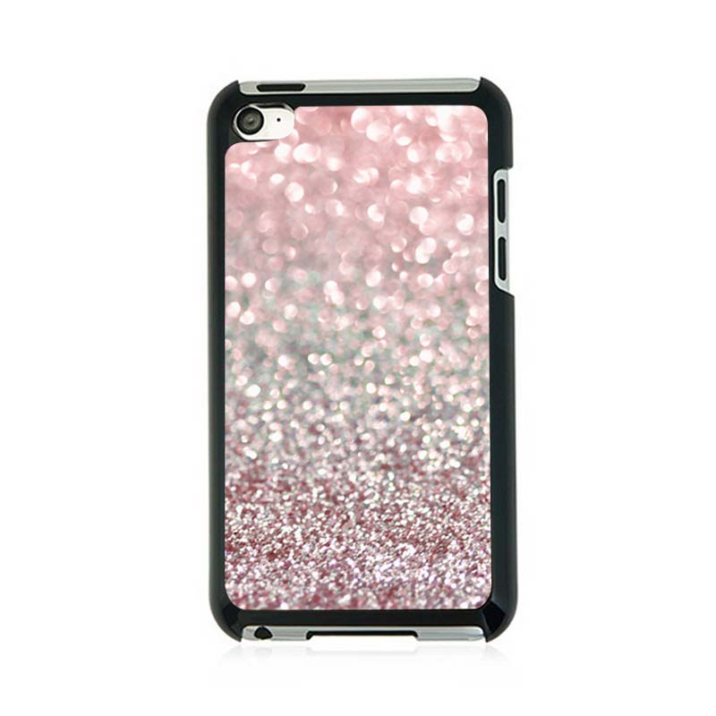 Girly Pink Snowfall Hard Plastic Cell Personalized Custom ...