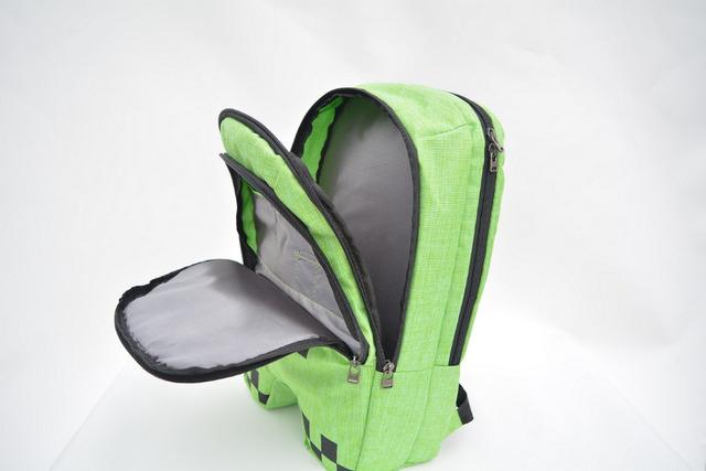 Новый горячий продажа minecraft рюкзак высокое качество унисекс дети mochilas школьные ...