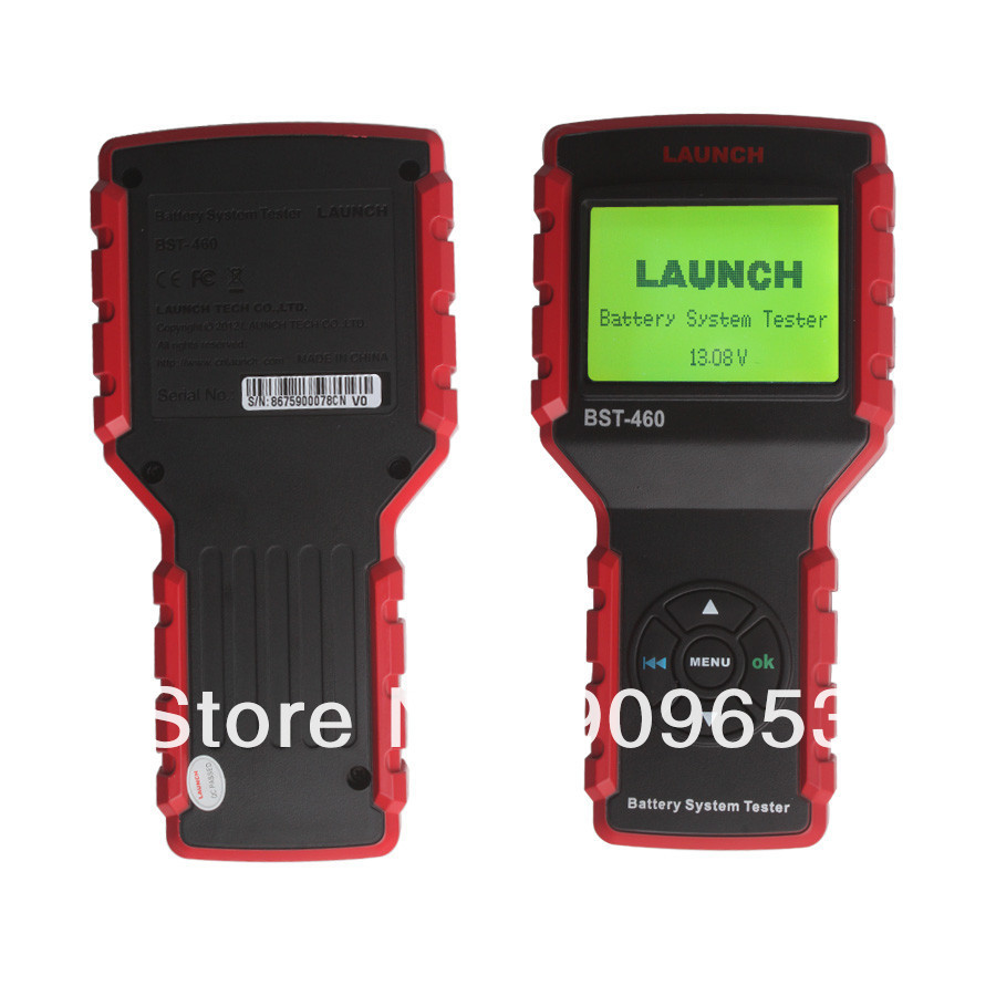 2016 100% Original Launch BST460 Battery Tester BST-460 BST 460 battery system Fast Express Shipping - ZL Obdtoolshop Co.,Ltd. store