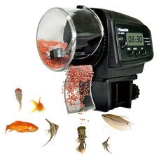 New Dropship Auto Fish Feeder Digital LCD Display Aquarium Tank Fish Food Feeding Automatic Timer Feeding Free Shipping(China (Mainland))