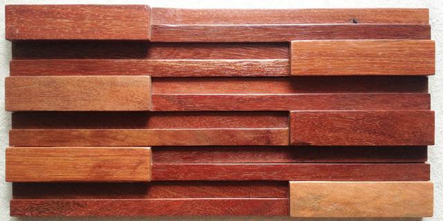 legno di catalpa mosaico sfondo decorazione della parete materiale ...