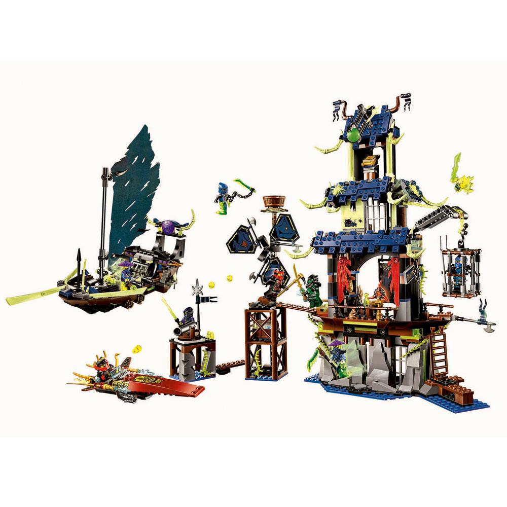 BELA LELE Ninjago Marvel Ninja City Ghost Building Blocks Brick Toys Minifigures Ninjagoed magformers Compatible Lego