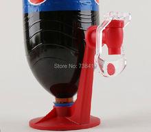 Горячая пластиковые мини стороны давление диспенсер воды фонтана DIY питьевой устройство машина соды дозирования гаджет холодильник шипение заставка
