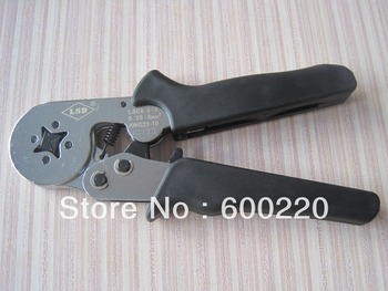 LSC8 6-4 self-adjusting crimping tool pliers for cable end ferrules 0.25-6mm2