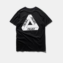2016 Palace Skateboards Classic Triangle Print Men t shirt Basic Summer Style Noah clothes Cotton Short Sleeve women T-shirt Tee(China (Mainland))