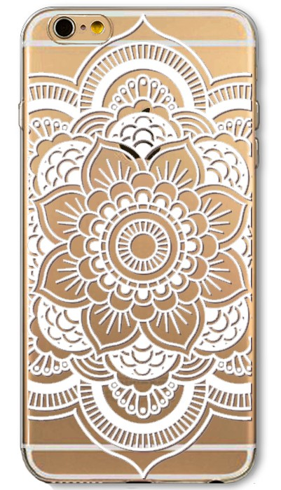 Phone Cases for Apple iPhone 5 5S SE 6 6S Plus 6Plus HENNA DREAM CATCHER Ethnic Tribal Flowers Painted TPU Silicon Cover Capa