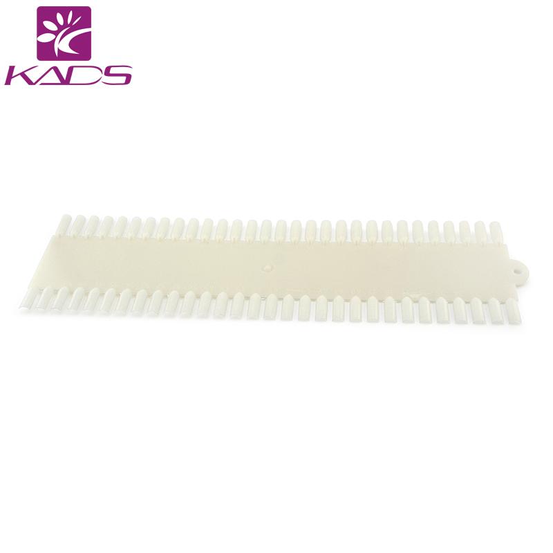 HOTSALE 100 packs*5pcs/pack natural white nail display color chart Nail Polish Display Art Design false Chart