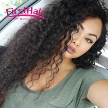 Mongolian Curly Hair With Closure Unprocessed Virgin Afro Kinky Curly Hair With Closure Rosa Hair Products With Closure 3 Bundle(China (Mainland))